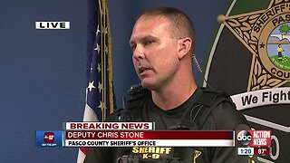 Pasco County deputy returns to duty after being shot during during barricade situation