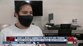23ABC discusses police and media relationship with BPD academy