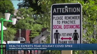 Health experts fear holiday COVID-19 spike