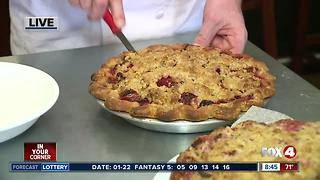 Naples restaurant serves free pie for National Pie Day - 8:30am live report - Video