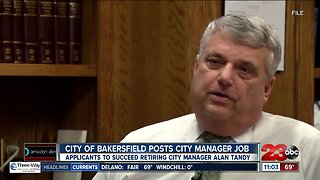 City of Bakersfield Posts City Manager Job