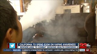 E-cigarette related death reported in Tulare County as Gov. Newsom announces plan for vaping awareness