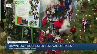 Downtown Rochester Festival Of Trees