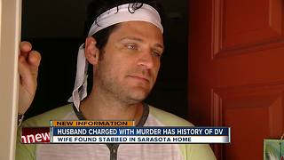 Sarasota man charged with killing wife - Video