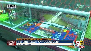 FC Cincinnati announces partnerships with Liberty Center, Mercy Health - Video
