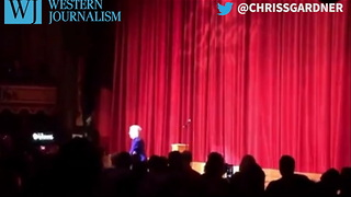 Kathy Griffin Makes Return To Stage, Wears Trump Mask In Disgusting Display - Video