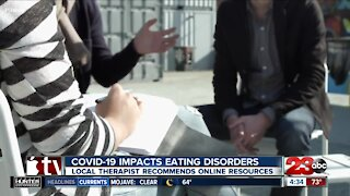 Local therapist offers advice for those struggling with eating disorders during pandemic