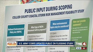 Army Corp of Engineers updates public on flooding study