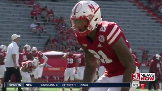 Huskers hand out four Blackshirts - Video