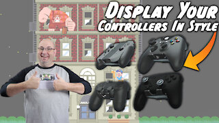 Display your controllers in style with controller wall mounts