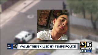 Valley teen killed by police
