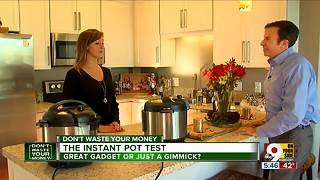 Instant Pot test: Great cooker or gimmick? - Video