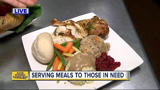 Metropolitan Ministries continuing tradition of feeding families in need for Thanksgiving - Video