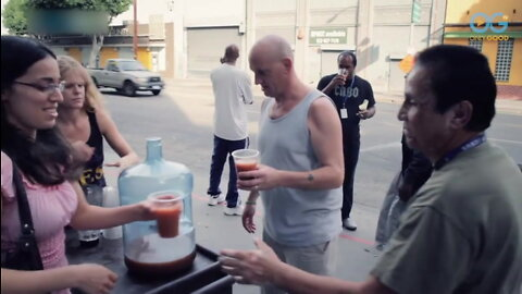 Juicing For The Homeless With The Give Project In LA