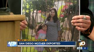 San Diego mother deported - Video