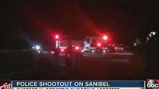 Police shootout on Sanibel - Video