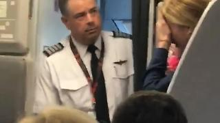 American Airlines Altercation - Video