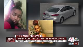 Amber Alert issued for missing 15-year-old girl