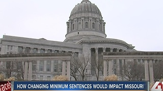How changing minimum sentences would impact Missouri - Video