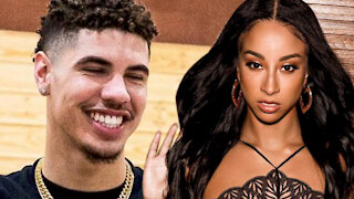 LaMelo Ball Spotted Out And About With Porn Star Teanna Trump & Friends Visiting Him In Charlotte