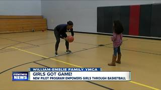 YMCA pilots first all girls basketball program for youth - Video