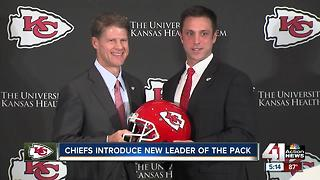 Chiefs introduce new GM Brett Veach
