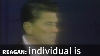Ronald Reagan Shares The Truth About Lawbreakers - Video