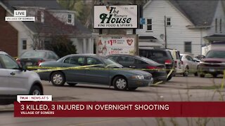 3 killed and 3 injured in Sommers bar shooting