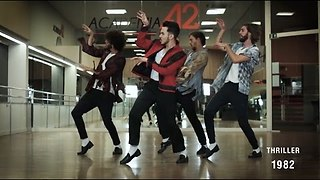 Dance Crew Performs The Evolution Of Michael Jackson's Dance - Video