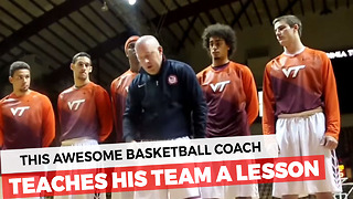 Basketball Team Learns Important Lesson About The American Flag - Video