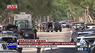 Shooting in suburban West Palm Beach - Video