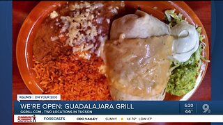 Guadalajara Grill selling takeout Mexican food