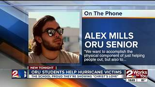 ORU students head to Texas for Fall Break to help with hurricane relief - Video
