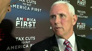 Exclusive interview with VP Mike Pence on tax reform - Video