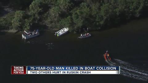 One dead, multiple injured in boat collision on Little Manatee River