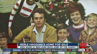 Merle Haggard's northeast Bakersfield home for sale - Video
