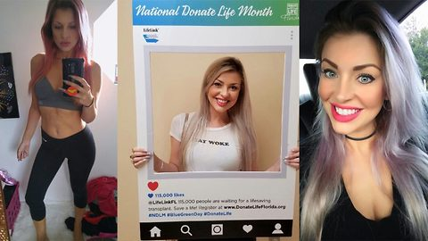 'Sickestwoman in America' who dismissed liver failure for 'turning 30' now dubbed 'The Bionic Barbie' after miracle recovery