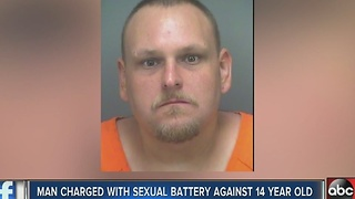 St. Petersburg man charged with sexual battery of a minor - Video