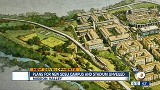 SDSU shows plans for new campus - Video