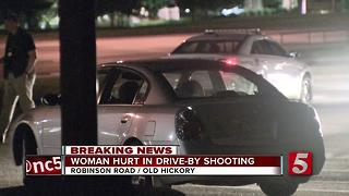 Woman Seriously Injured In Nashville Drive-By Shooting - Video