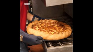 This Pizza Weighs 14 Pounds - Video