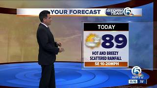 South Florida Monday afternoon forecast (6/25/18) - Video