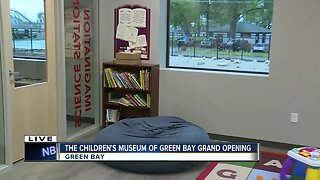 Grand re-opening of The Children's Museum of Green Bay in new location