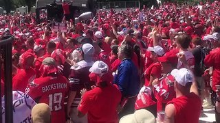 Caps Fans Sing 'We Are The Champions' at National Mall Homecoming - Video