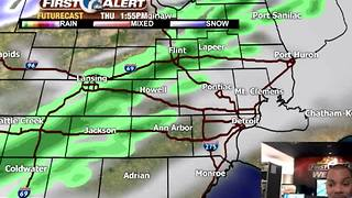 Powerful front brings big cold! - Video