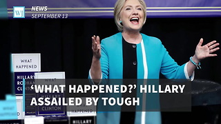 'What Happened?' Hillary Assailed By Tough Questions During Book Signing - Video