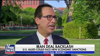 """Mnuchin: """"The President Is Determined... to Protect the American People"""" - Video"""
