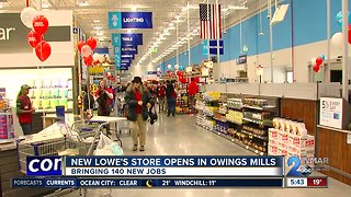 Lowe's opens new store in Owings Mills