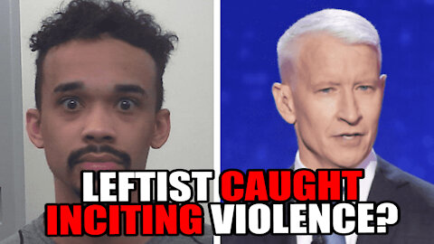 Left Wing Activist CAUGHT Inciting Violence at the Capitol?