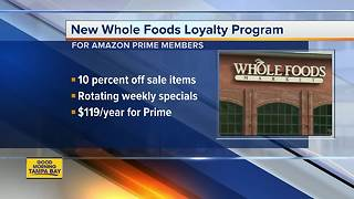 New Whole Foods loyalty program - Video